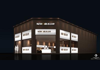 纽澳床垫展览设计