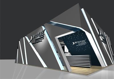 七星彩展台设计的图片